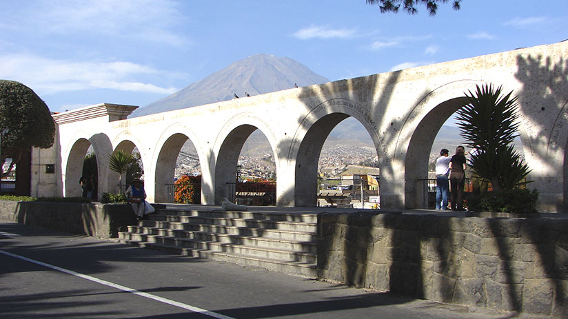 planning a trip to peru arequipa