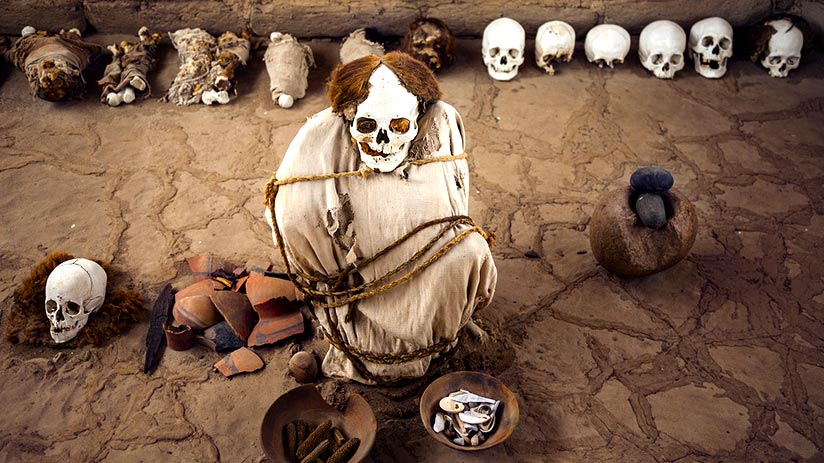 things to do in nazca chauchillas cemetery
