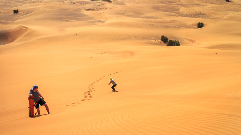 things to do in nazca sandboarding