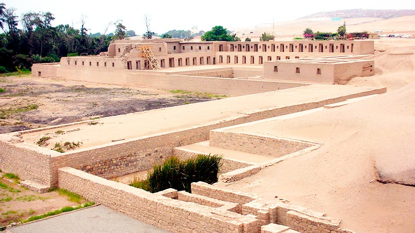 archaeological treasures in peru pachacamac