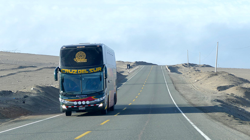 best way to travel in peru bus
