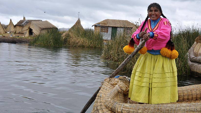 tourism in Peru and the friendly locals