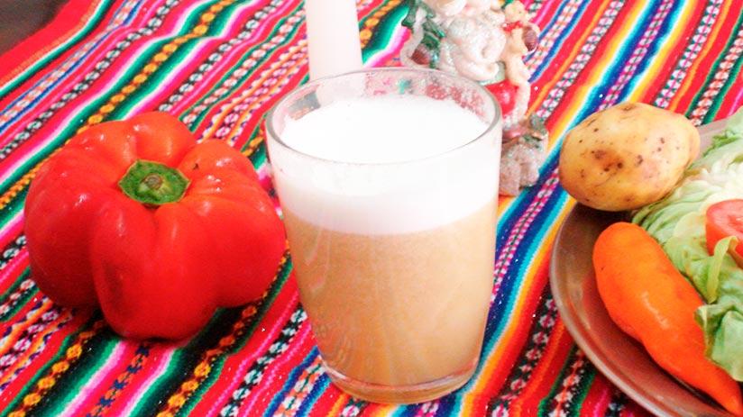 traditional peruvian non alcoholic drinks chicha de jora