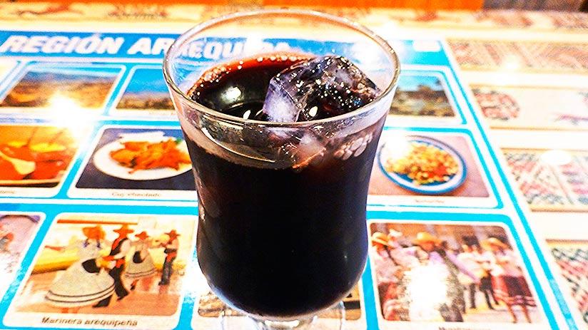 traditional peruvian non alcoholic drinks chicha morada