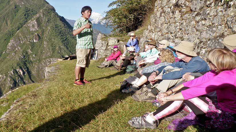 Machu Picchu reservations book guided tours