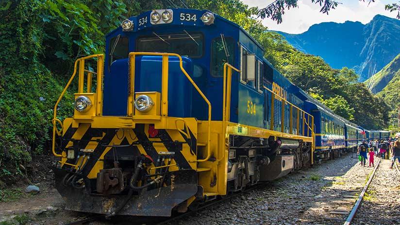Machu Picchu reservations transportation