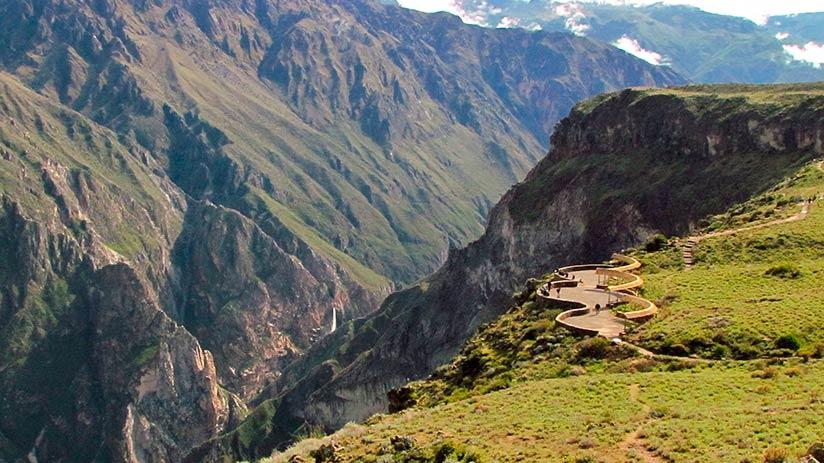 Colca Canyon condors where to see