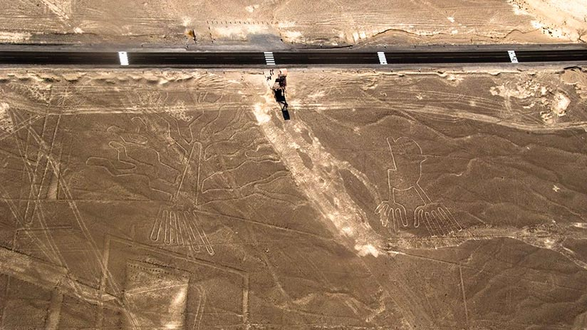 Hummingbird in Nazca Lines unsolved mystery