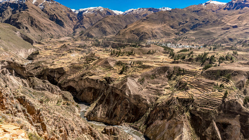 facts about peru colca canyon