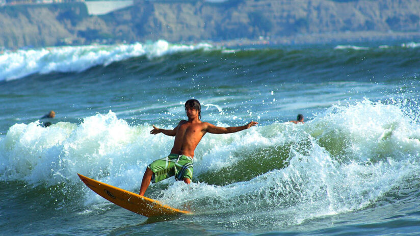 facts about peru surf cradle