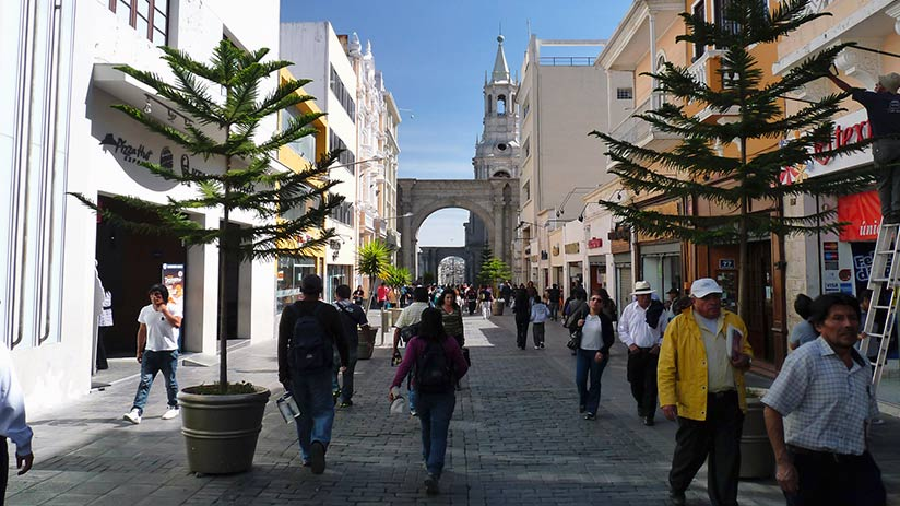 free walking tour in arequipa