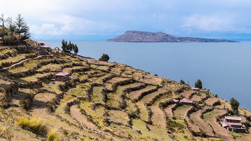lake Titicaca islands amantani island