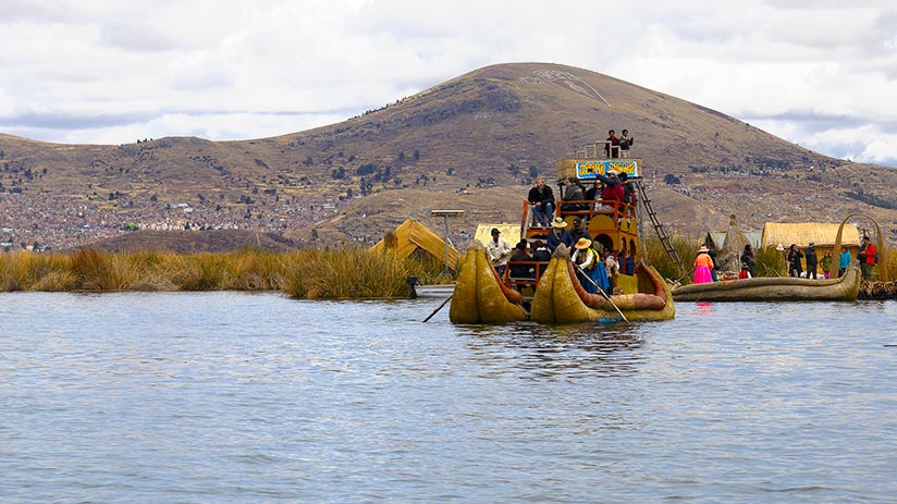 lake Titicaca islands