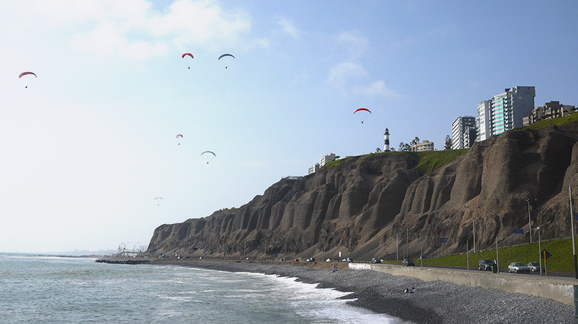 paragliding in Lima tips