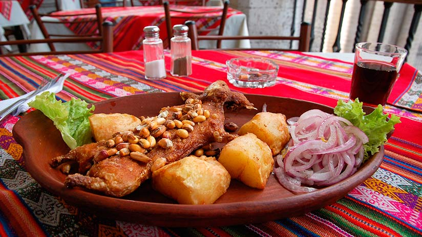 walking tour in arequipa cuisine