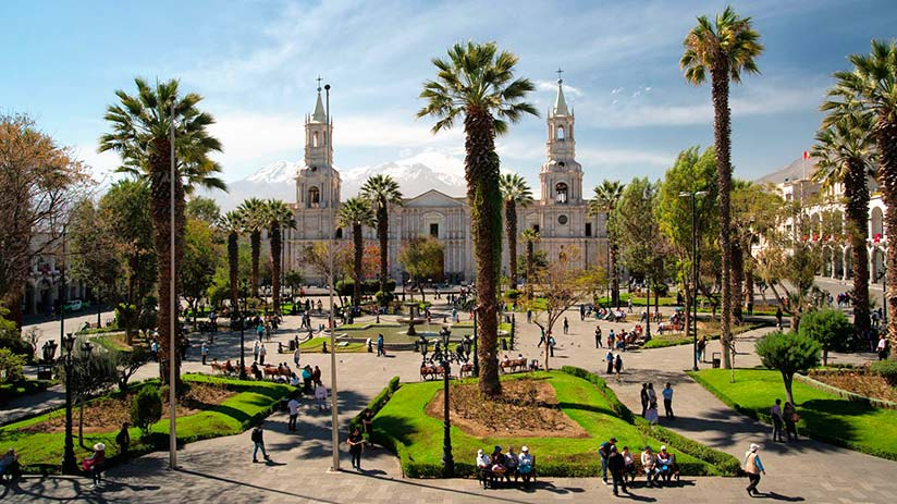 walking tour in arequipa