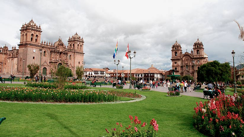 Cusco Cathedral location