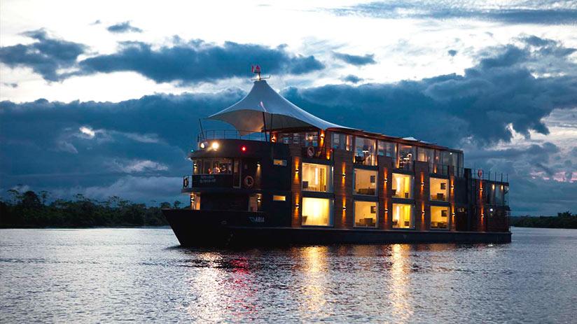 Peruvian jungle luxury amazon cruise