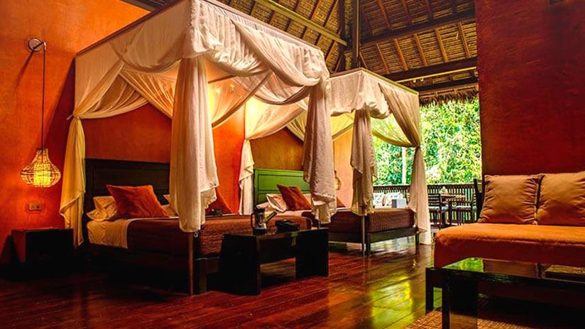 Peruvian jungle luxury amazon lodges