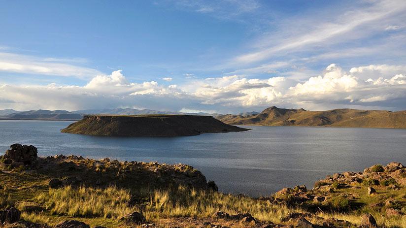 Sillustani lake umayo