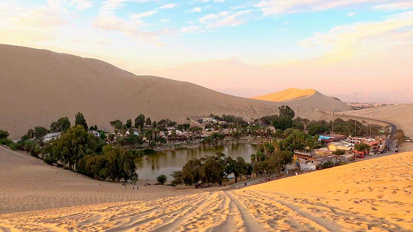 about huacachina sand dunes