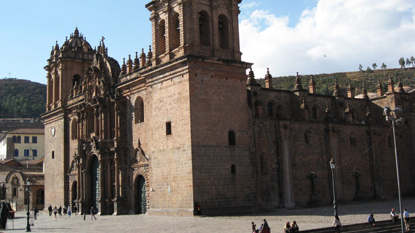 description of the cusco cathedral