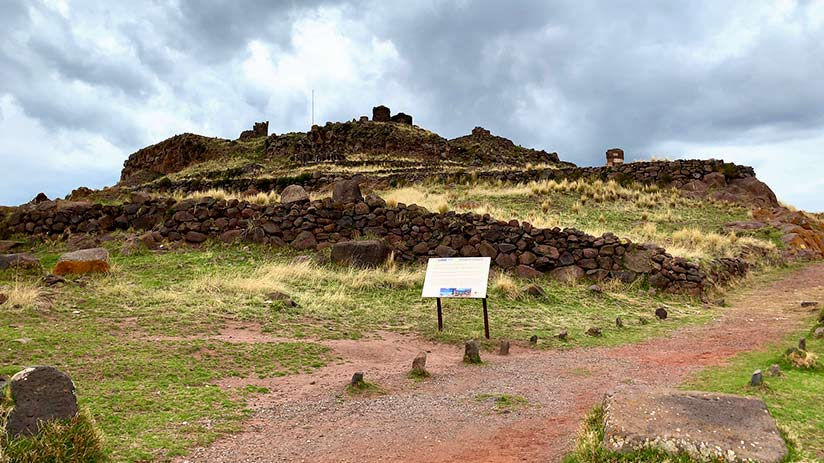 getting to Sillustani