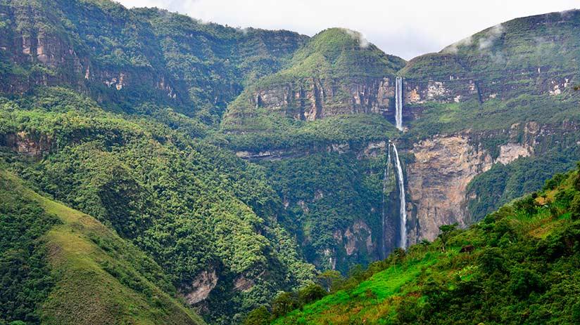 gocta waterfalls description