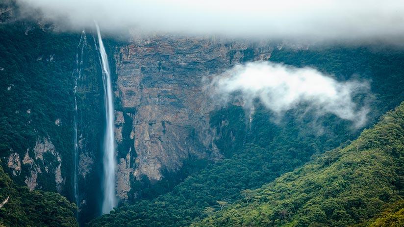 gocta waterfalls history
