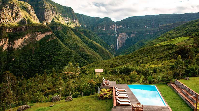 gocta waterfalls where to stay