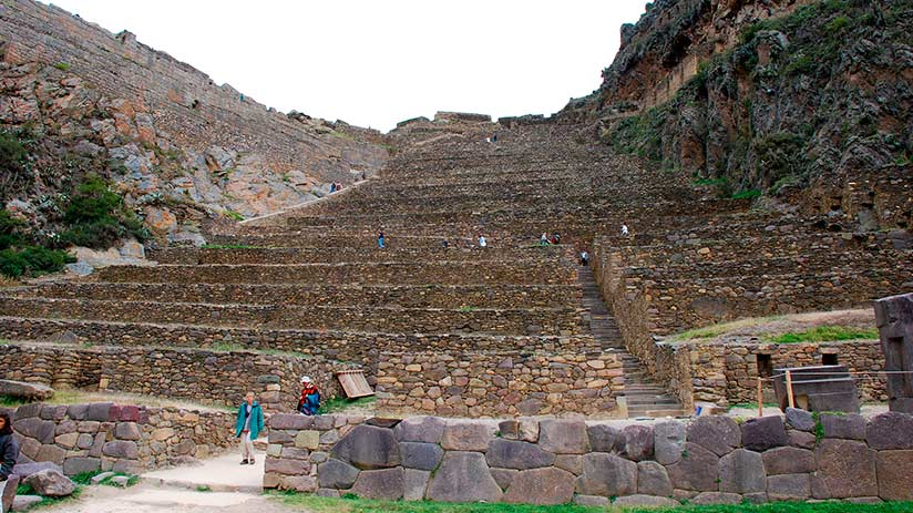 ollantaytambo in the sacred valley map