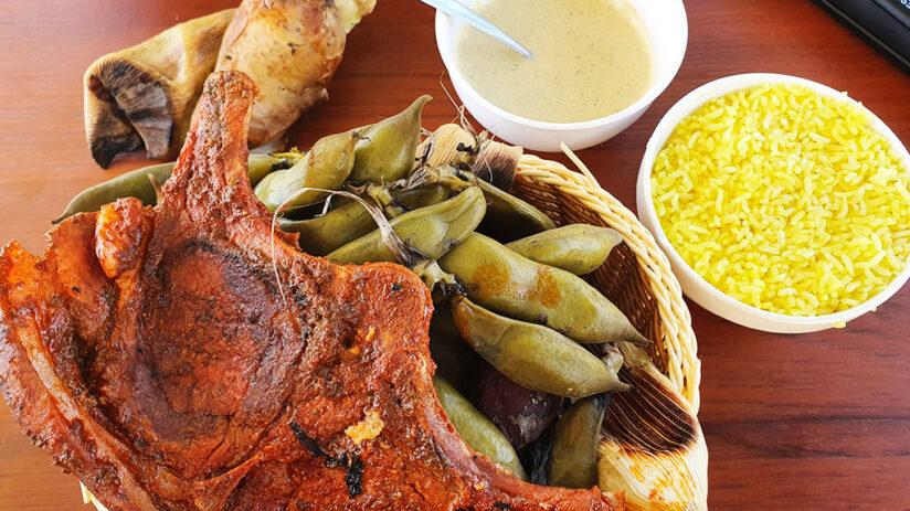 peru national dish pachamanca