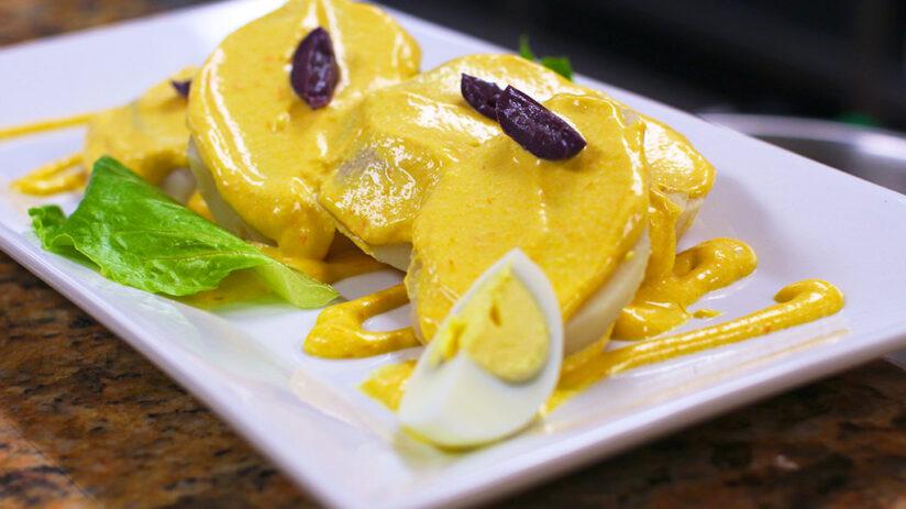 peru national dish papa a la huancaina