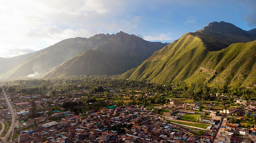 urubamba in the sacred valley map