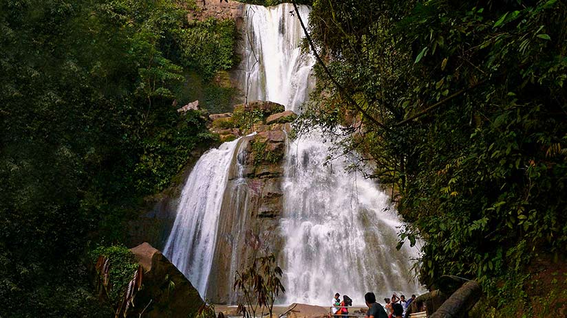 waterfalls in peru bayo