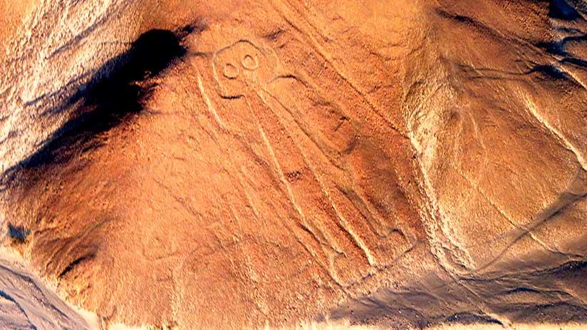 nazca lines images astronaut