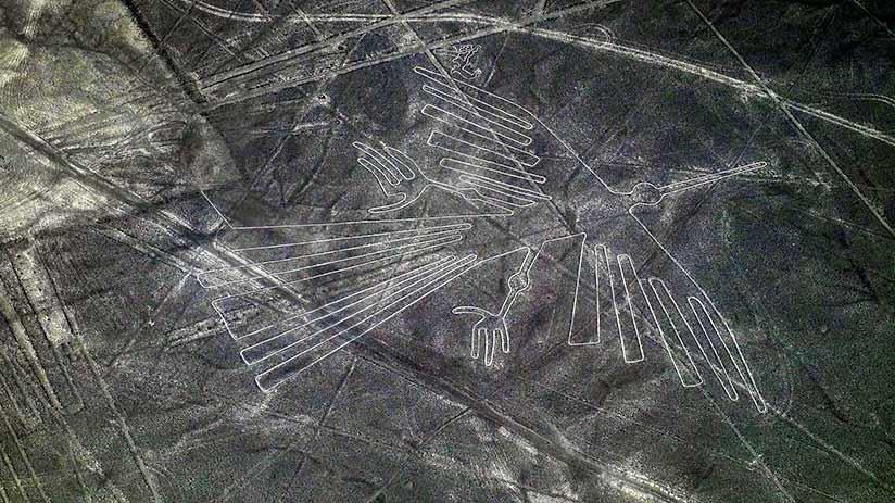 nazca lines images condor