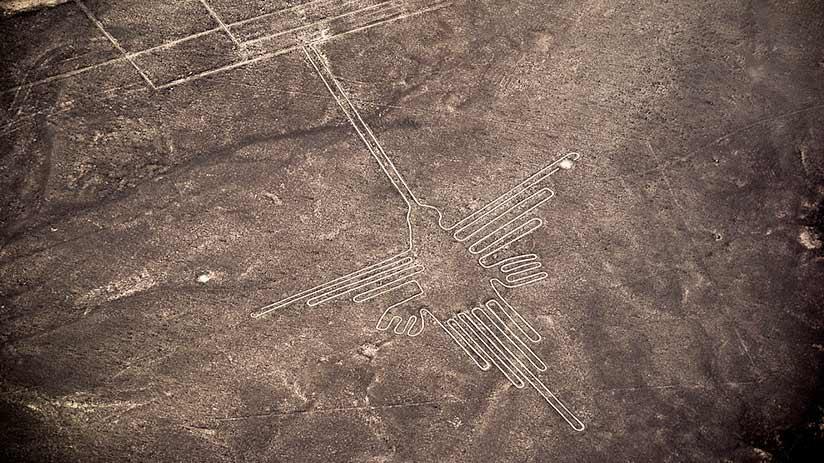 nazca lines images hummingbird