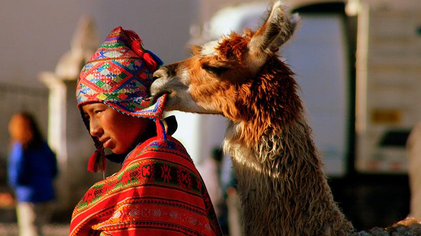 peruvian souvenirs chullo hat