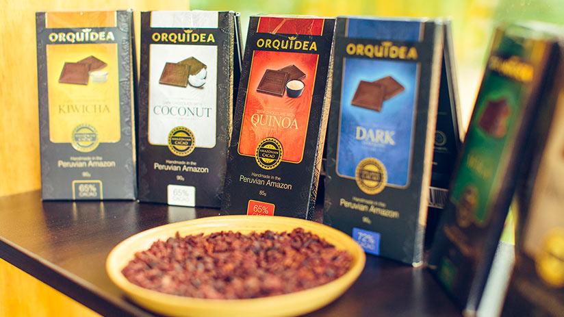 peruvian souvenirs coffee and chocolate