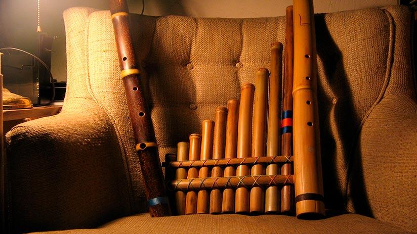 peruvian souvenirs musical instruments