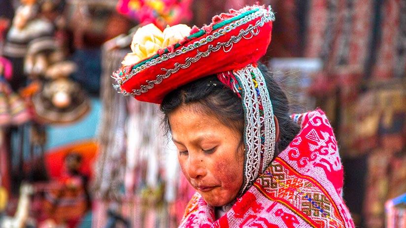 peruvian traditional clothes monteras