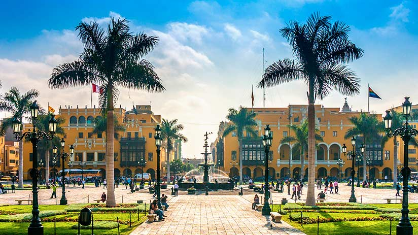 popular places in peru lima