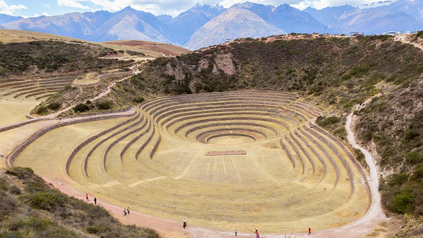 ancient ruins in peru maras moray