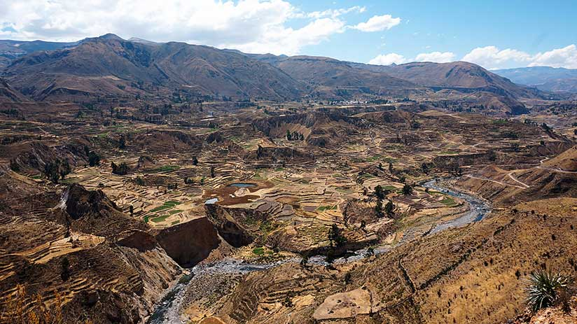 best trekking experiences in peru colca canyon trek