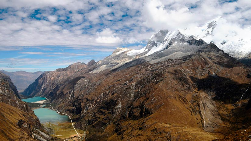 best trekking experiences in peru santa cruz trek