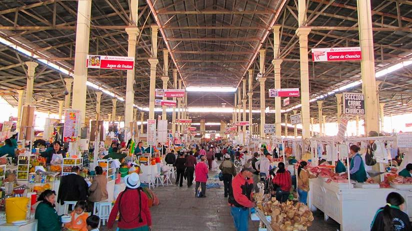 markets in cusco san pedro