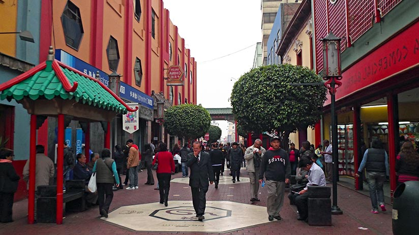 markets in lima chinese market