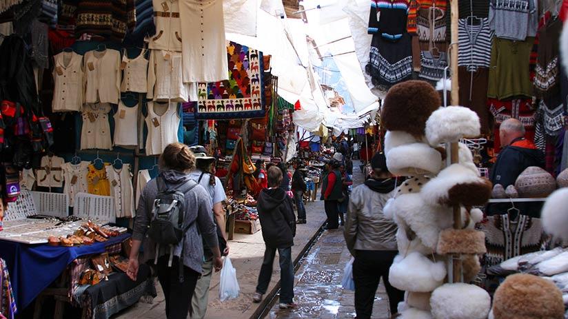 markets in lima inka market