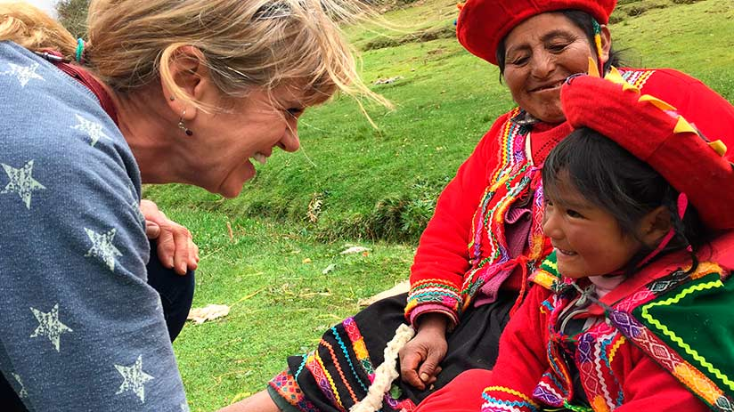 peruvian andes people